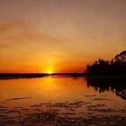 The magic of Arnhem Land - sunset over Cooper Creek by georgieboy98