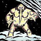 Snowmonster by artbymike156