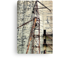 Bygone of Buffalo Canvas Print