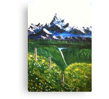 RESTFUL MOUNTAINS Canvas Print