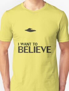 Want to Believe T-Shirt