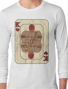 El Rey De Corazones Long Sleeve T-Shirt