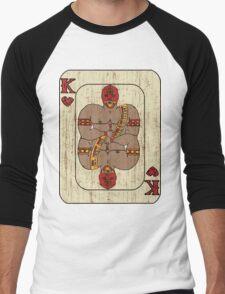El Rey De Corazones Men's Baseball ¾ T-Shirt