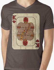 El Rey De Corazones Mens V-Neck T-Shirt