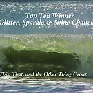 Top Ten Banner - Glitter, Sparkle & Shine by quiltmaker