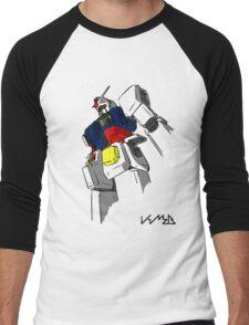 RX-79 Men's Baseball ¾ T-Shirt