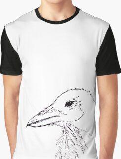Simplistic Raven  Graphic T-Shirt