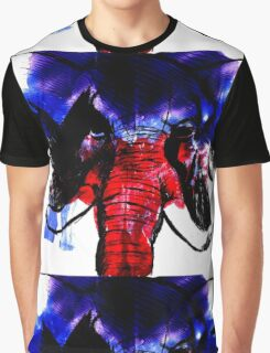 American Elephant Graphic T-Shirt