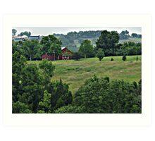 Kentucky Bluegrass Country Art Print