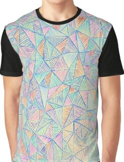Mixed Triangles - Colors Graphic T-Shirt