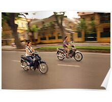 Hanoi Bike Life Poster