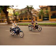 Hanoi Bike Life Photographic Print