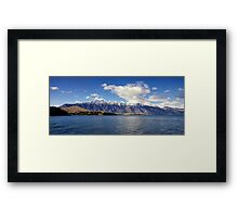 Remarkables, Queenstown, New Zealand Framed Print