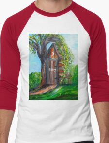 Outhouse - Privy - The Old Out House Men's Baseball ¾ T-Shirt