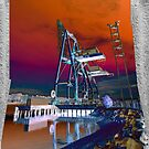 Industrial waterfront number 738 by TIMOTHY  POLICH