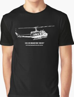 UH-1H Huey Helicopter Graphic T-Shirt