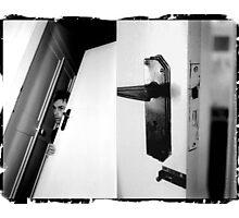 identity door (hyper_tension)  Photographic Print