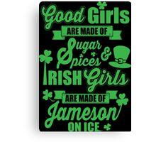 IRISH GIRLS Canvas Print