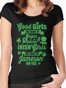 IRISH GIRLS Women's Fitted Scoop T-Shirt