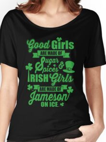 IRISH GIRLS Women's Relaxed Fit T-Shirt