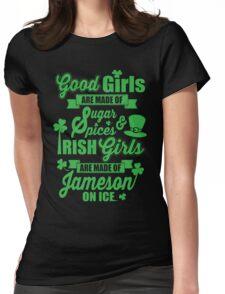 IRISH GIRLS Womens Fitted T-Shirt