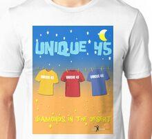 UNIQUE 45 - DIAMONDS IN THE DESERT Unisex T-Shirt
