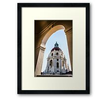 Pasadena City Hall Framed Print