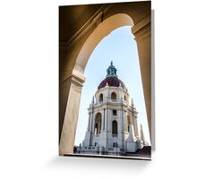 Pasadena City Hall Greeting Card