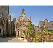 Old House in Locronan, Brittany France Photographic Print