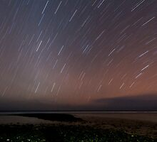 Night Sky over Trannies by Karen Willshaw