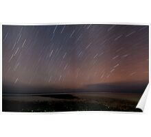 Night Sky over Trannies Poster