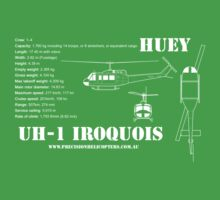 UH-1 Iroquois Helicopter One Piece - Short Sleeve