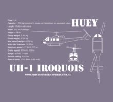 UH-1 Iroquois Helicopter Kids Tee