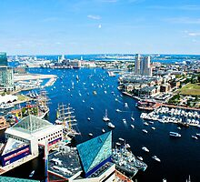Baltimore Waterfront by adlad