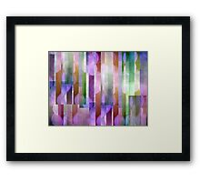 Abstract Composition – June 19, 2012 Framed Print