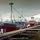 Fishing fleet at Portland by Roger Neal