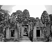 Temple Entrance Photographic Print