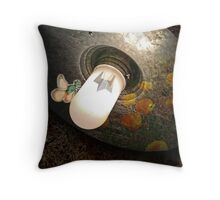 Cellular Potpourri Throw Pillow