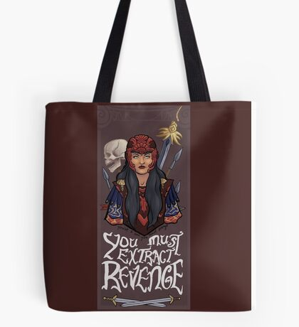 Xena: The Bitter Suite - Xena Tote Bag