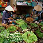 Green Market Vegetables by Rob Steer