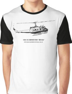 Huey Helicopter Graphic Graphic T-Shirt