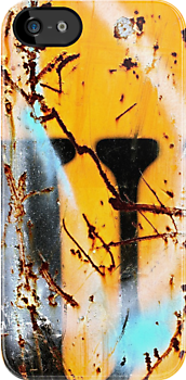 Sprayed Out U - iPhone Skin by Vikki-Rae Burns