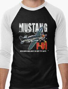 P-51 MUSTANG Men's Baseball ¾ T-Shirt