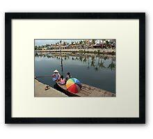 Boat Mister Framed Print