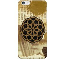 Element in Sepia - iPhone Skin iPhone Case/Skin