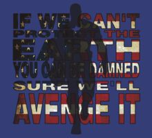 Avengers Quote - Captain America by dgoring