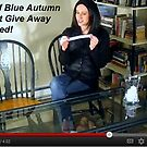 Winner of Blue Autumn Free Print Giveaway Announced! by Jaeda DeWalt
