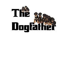 The Dog Father - Rottweiler Litter Photographic Print