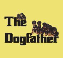The Dog Father - Rottweiler Litter Kids Tee