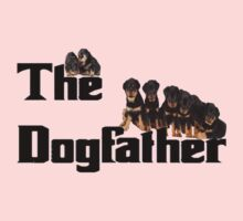 The Dog Father - Rottweiler Litter Kids Tee